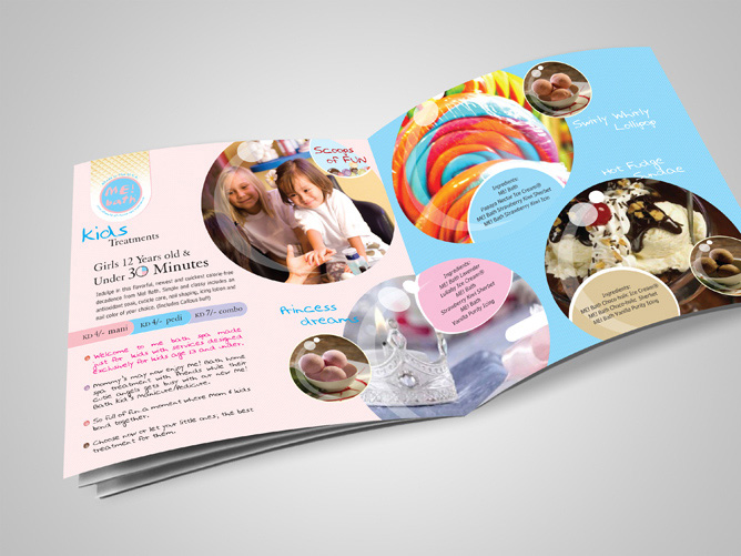 Me Bath, Ice Cream Social BROCHURE