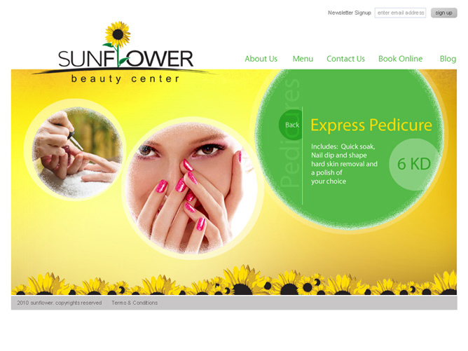 SUNFLOWER, Beauty Center