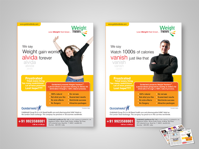Goldshield Services, Weight Trackers Campaign