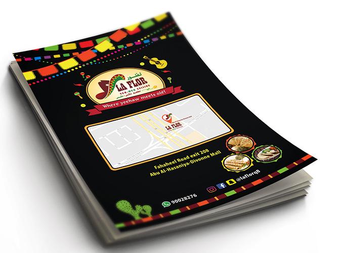LaFlora Tex Mex Cuisine - Flyer