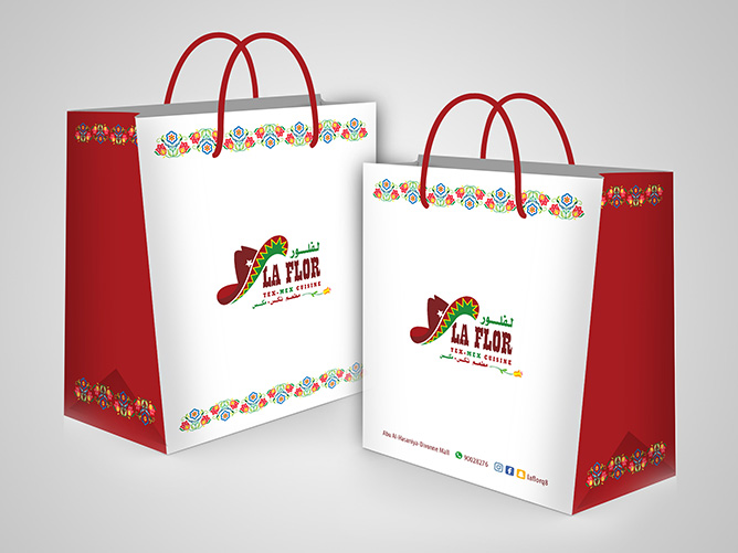 LaFlora Tex Mex Cuisine - Bag