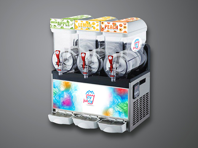 icy & juicy Slush Machine